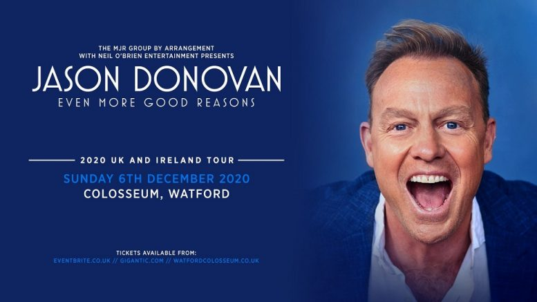 Jason Donovan at Colosseum Watford